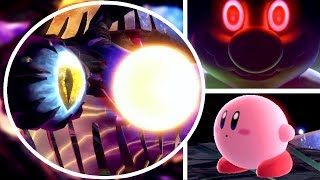 Super Smash Bros Ultimate TRUE FINAL BOSS & Real Ending in WORLD OF LIGHT STORY MODE vs Kirby Mario
