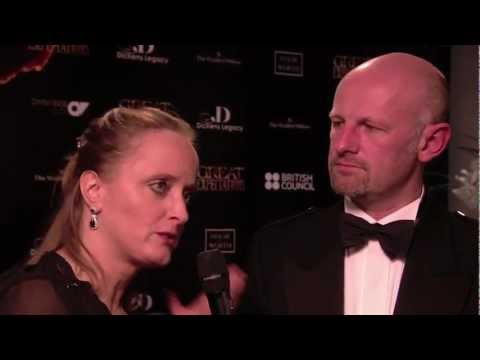 Lucinda Dickens Hawksley and Bruce Athol MacKinnon Interview - Gala Night of Great Expectations