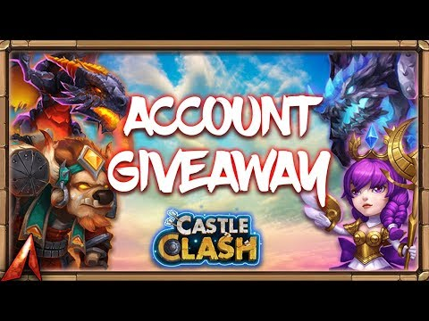 CRAZY Loaded Account Giveaway! Castle Clash