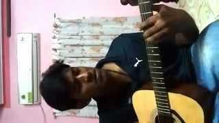 Aradhichidam christian devotional  guitar cover