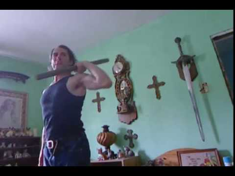 Sadistikal (1) Warrior Yoga Clubbell Workout with Danzig