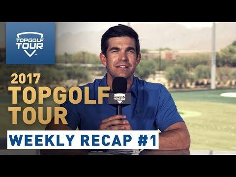 Week 1 Recap | 2017 Topgolf Tour | Topgolf