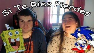 Si Te Ries Pierdes (CON CASTIGO SEMILLAS ASQUEROSAS) Con Tessy