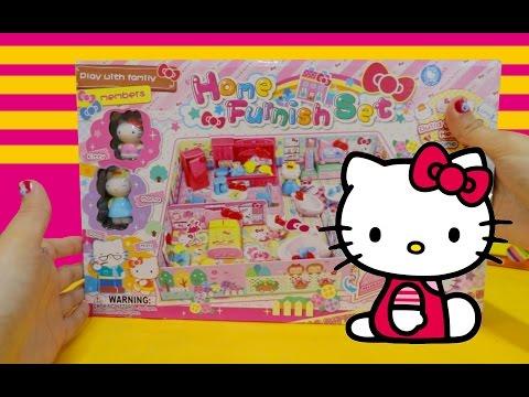 Slap Band Watch feat. Elsa & Anna & Hello Kitty Furniture Playset