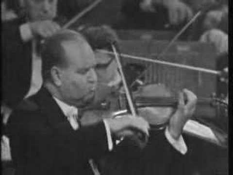 David Oistrakh Beethoven Violin Concerto Mvt. 1 Part 1
