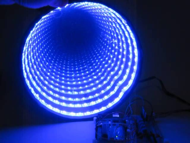 Arduino Controlled Rgb Led Infinity Mirror 13 Steps With Pictures