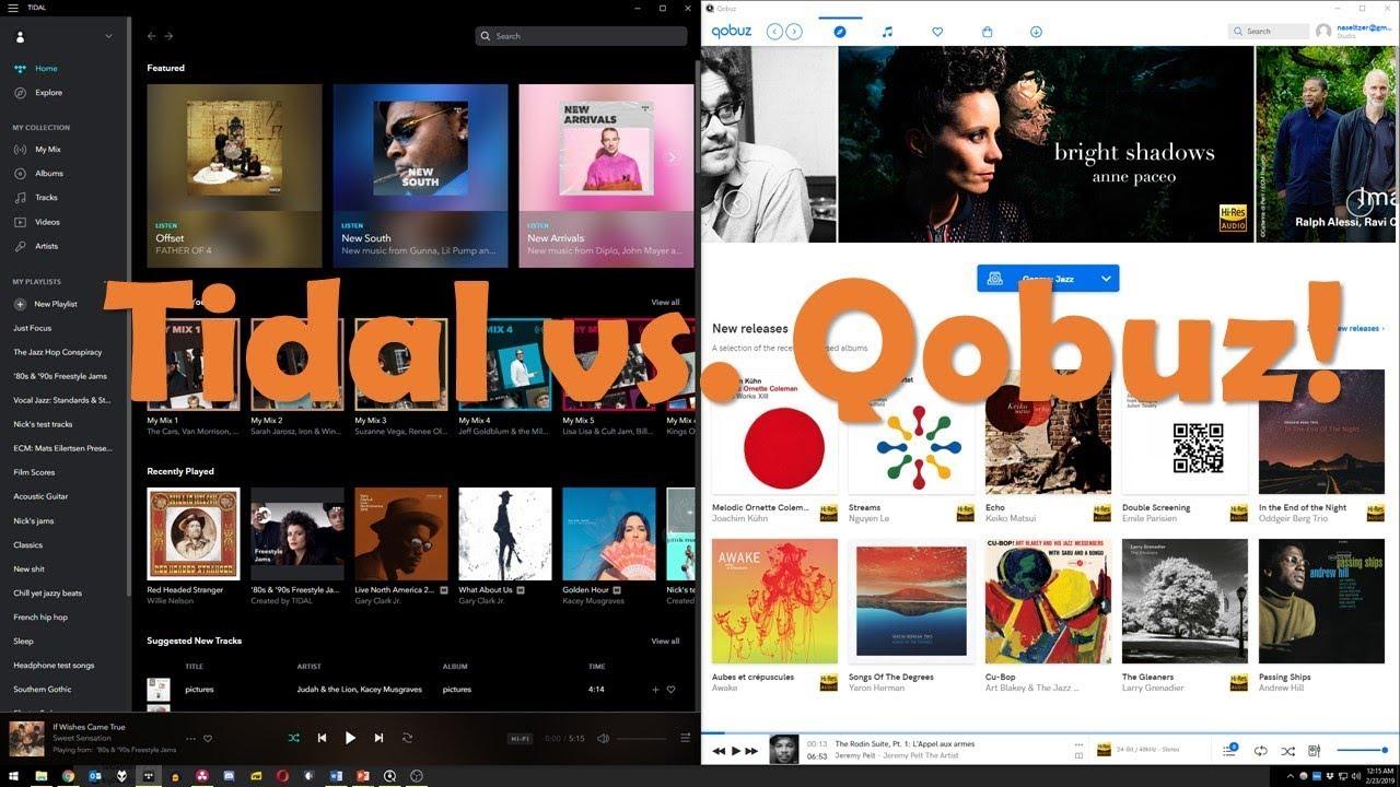 Battle of the Streams: Tidal vs  Qobuz!