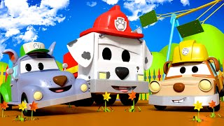 Pequeno Jeremy e Pequeno Tom são Rubble e Rocky da Patrulha Canina  - Oficina de Pintura do Tom 🎨