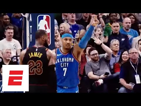 Carmelo Anthony Highlights: His basketball journey from Syracuse to the Oklahoma City Thunder | ESPN