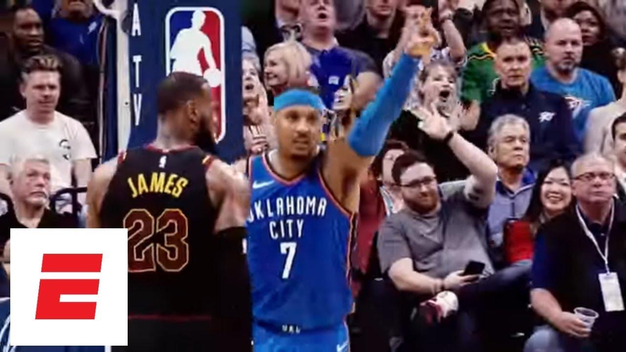 fc9f5444e Carmelo Anthony Highlights  His basketball journey from Syracuse to the  Oklahoma City Thunder