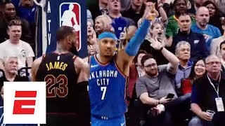 Carmelo Anthony Highlights: His basketball journey from Syracuse to the Oklahoma City Thunder   ESPN