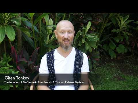 BioDynamic Breathwork exercise w Giten Tonkov