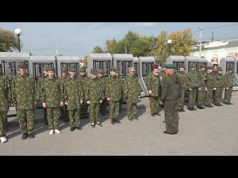 В Камышлове появился отряд юных пограничников