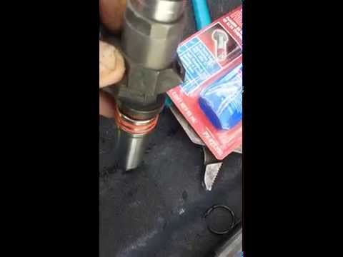 Duramax injector cup repair