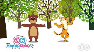 Forests - Learning Songs Collection   Happy Kids   Jungle Beats