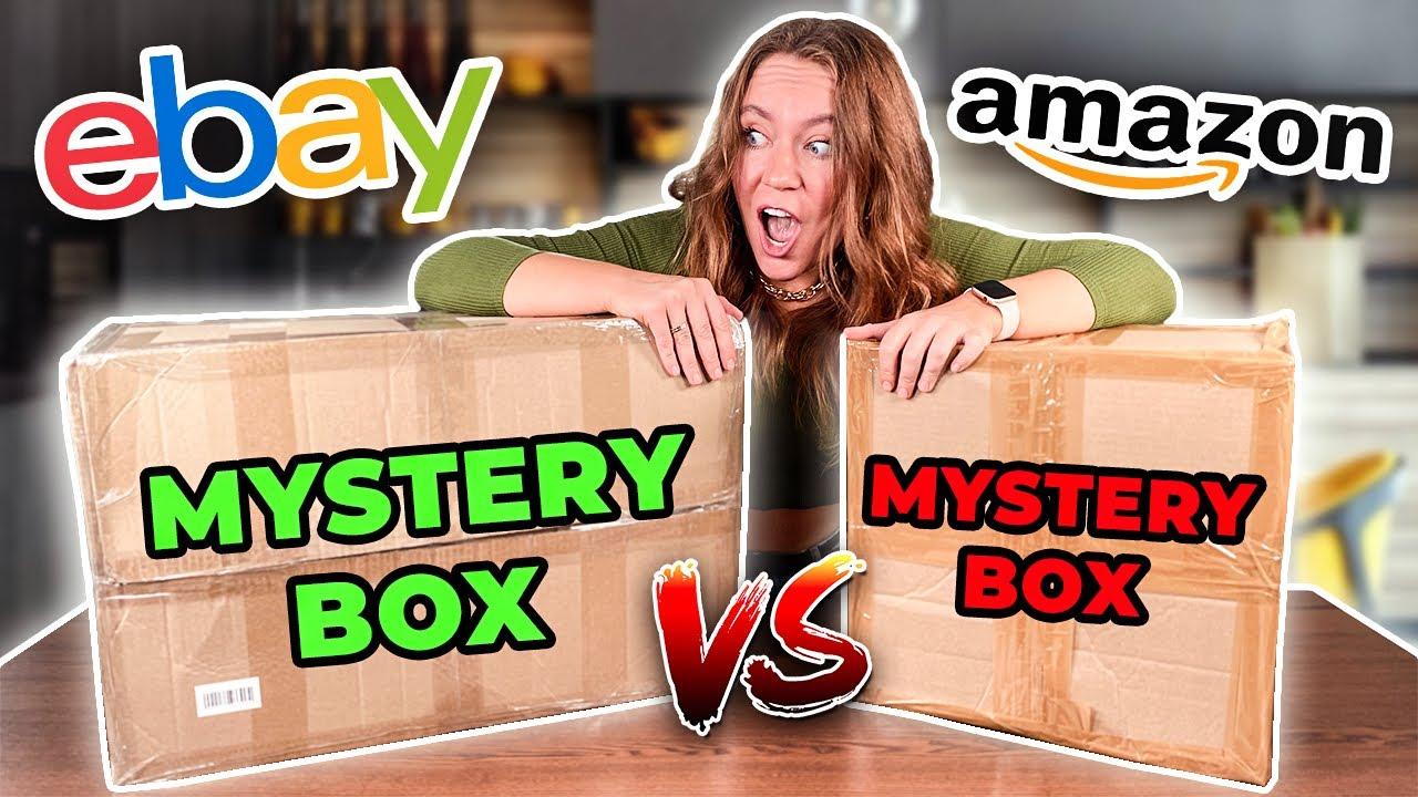 100 $ МИСТЕРИ Бокс AMAZON vs EBAY ! *посмотри перед покупкой*