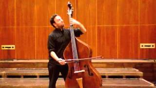 "Fagone plays Bach Cello Suite No.3  ""Allemanda"""