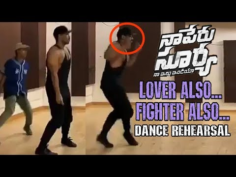Allu Arjun Cap Tricks | Love Also Fighter...