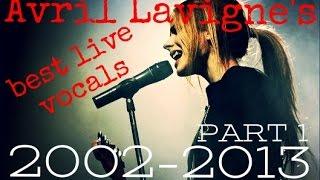 Video Avril Lavigne's best live vocals 2002-2013 (1/2) download MP3, 3GP, MP4, WEBM, AVI, FLV Juli 2018