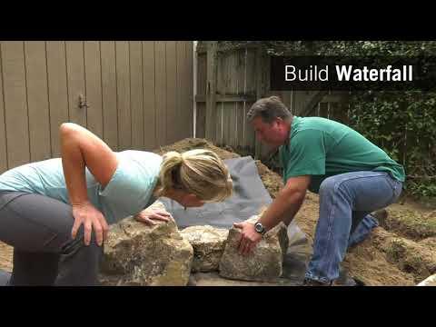Backyard Waterfall Kit