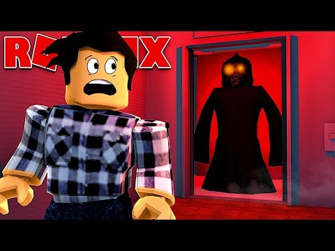 scary elevator in roblox