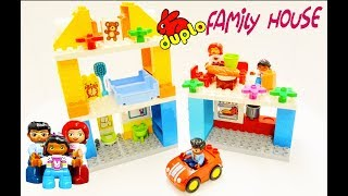 Lego Duplo Family House 10835 Unboxing review of Family House
