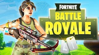 The NEW Crossbow in Fortnite!!! (Fortnite: Battle Royale)