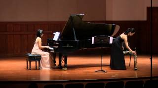 Ravel Pavane pour une infante défunte for Saxophone and piano