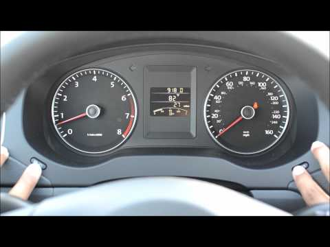 Setting the Clock and other Cool Stuff with VW Instrument Panel Buttons