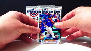 Baseball Card Pack Opening 2018 Topps Opening Day #13