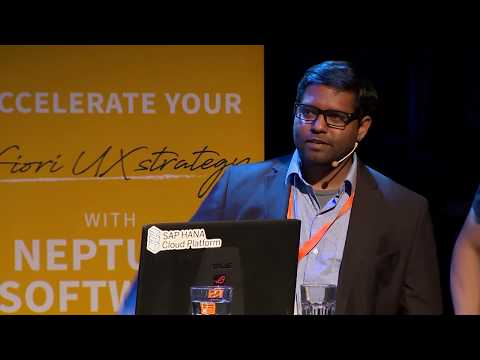 Better SAP UX while Streamlining the Supply Chain | Neptune UX Summit 2017