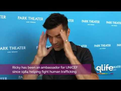 Ricky Martin | Interview with Q Life Magazine in Las Vegas #RickyALLIN