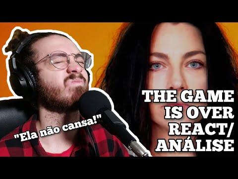 GUITARRISTA reagindo e analisando a The Game Is Over do Evanescence