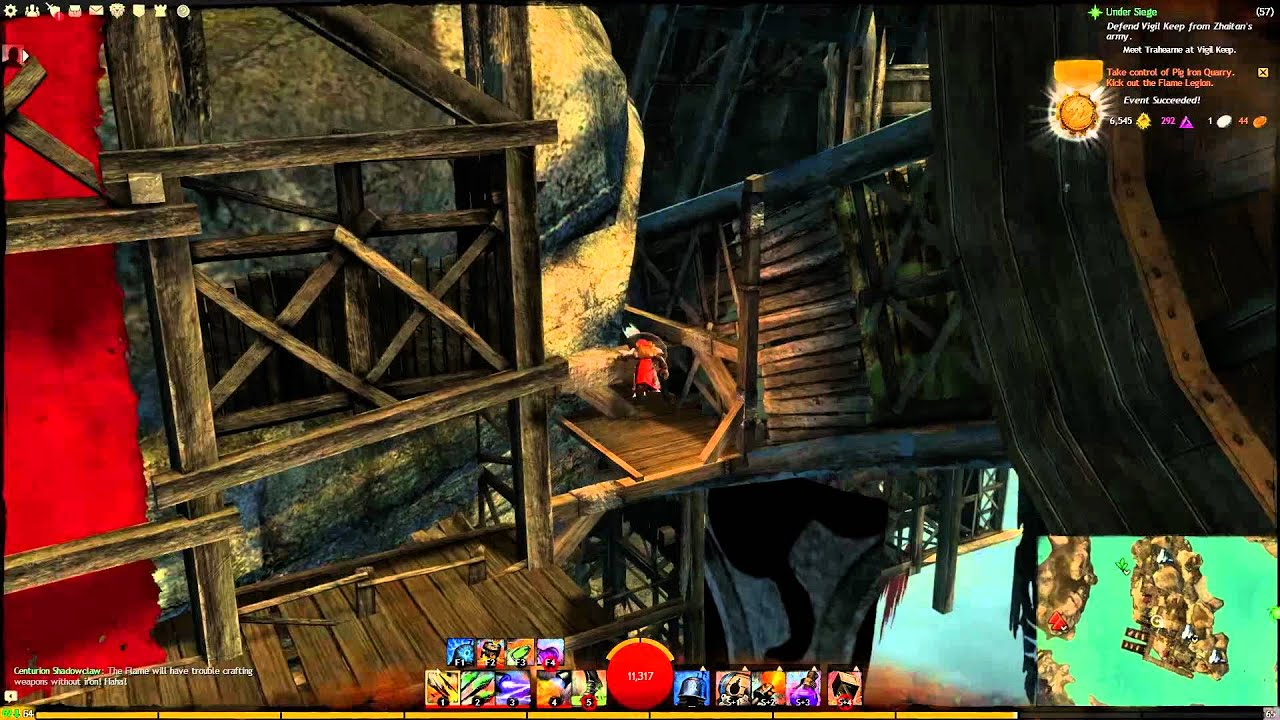 Fireheart Rise - Pig Iron Quarry Jumping Puzzle - YouTube