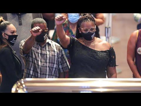 A Houston, la cérémonie d'hommage à George Floyd rassemble des foules avant les funérailles