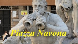 Rome-Italy  (Walking tour/Piazza Navona) Part 2