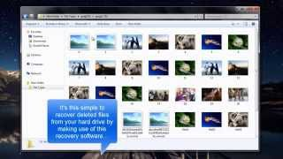 Hard Drive File Recovery using File Recovery Software