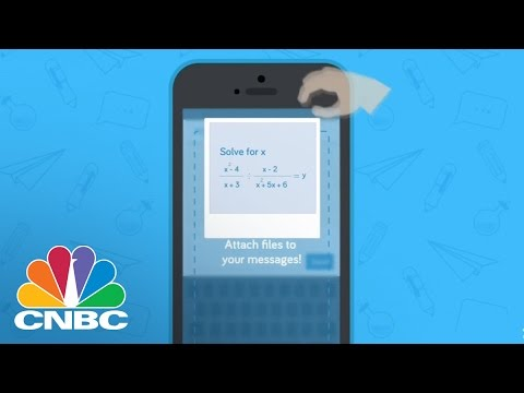 'Remind' Texting App Builds Relationship Between School, Student, and Parents | The Pulse | CNBC image