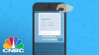 'Remind' Texting App Builds Relationship Between School, Student, and Parents | The Pulse | CNBC