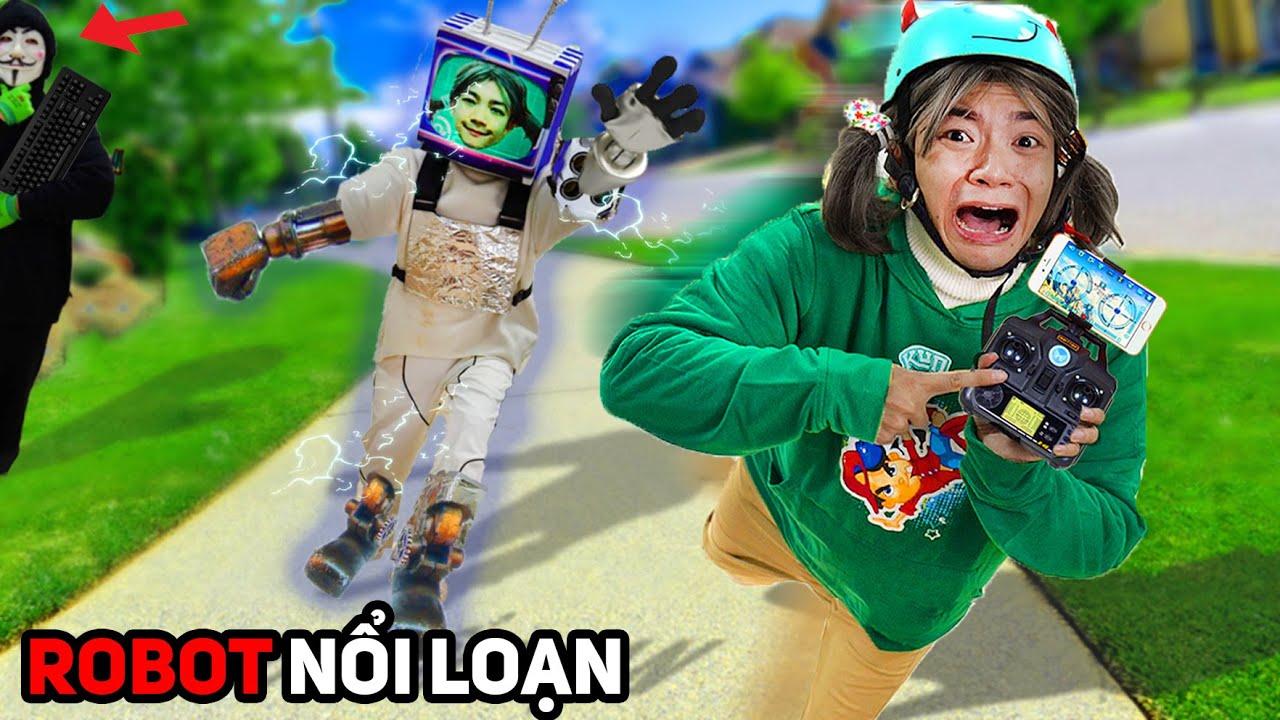 Robot Xanh Lanh Chanh Nổi Loạn! – Lớp Học Nhí Nhố 2
