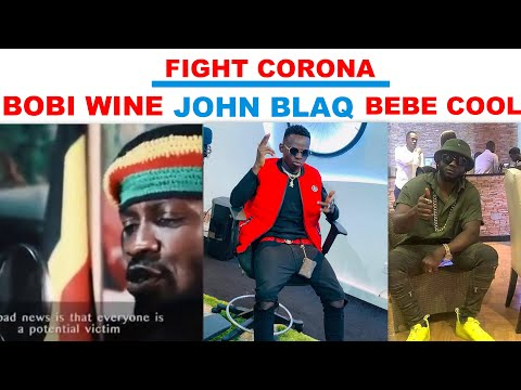 BOBI WINE And BEBE COOL JOIN FORCES TO FIGHT CORONA VIRUS IN UGANDA
