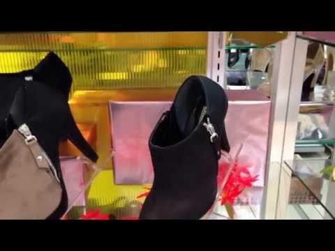 靴 秋の新作 婦人靴 高寸ヒールパンプス ブーティ ゴールド スエード素材 和歌山 秋のオシャレは足元から