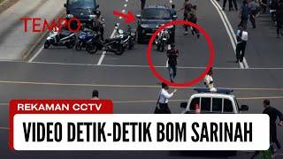 Rekaman CCTV: Menit-Menit Terakhir Saat Dua Teroris Dilumpuhkan