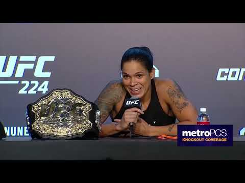 UFC 224: Post-fight Press Conference Highlights