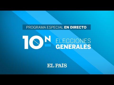 DIRECTO RESULTADOS ELECCIONES 10N  Programa especial de seguimiento de la NOCHE ELECTORAL