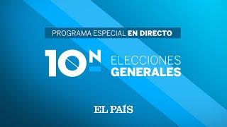 DIRECTO RESULTADOS ELECCIONES 10N | Programa especial de seguimiento de la NOCHE ELECTORAL