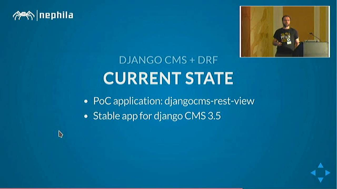 Image from Django CMS in the real time web