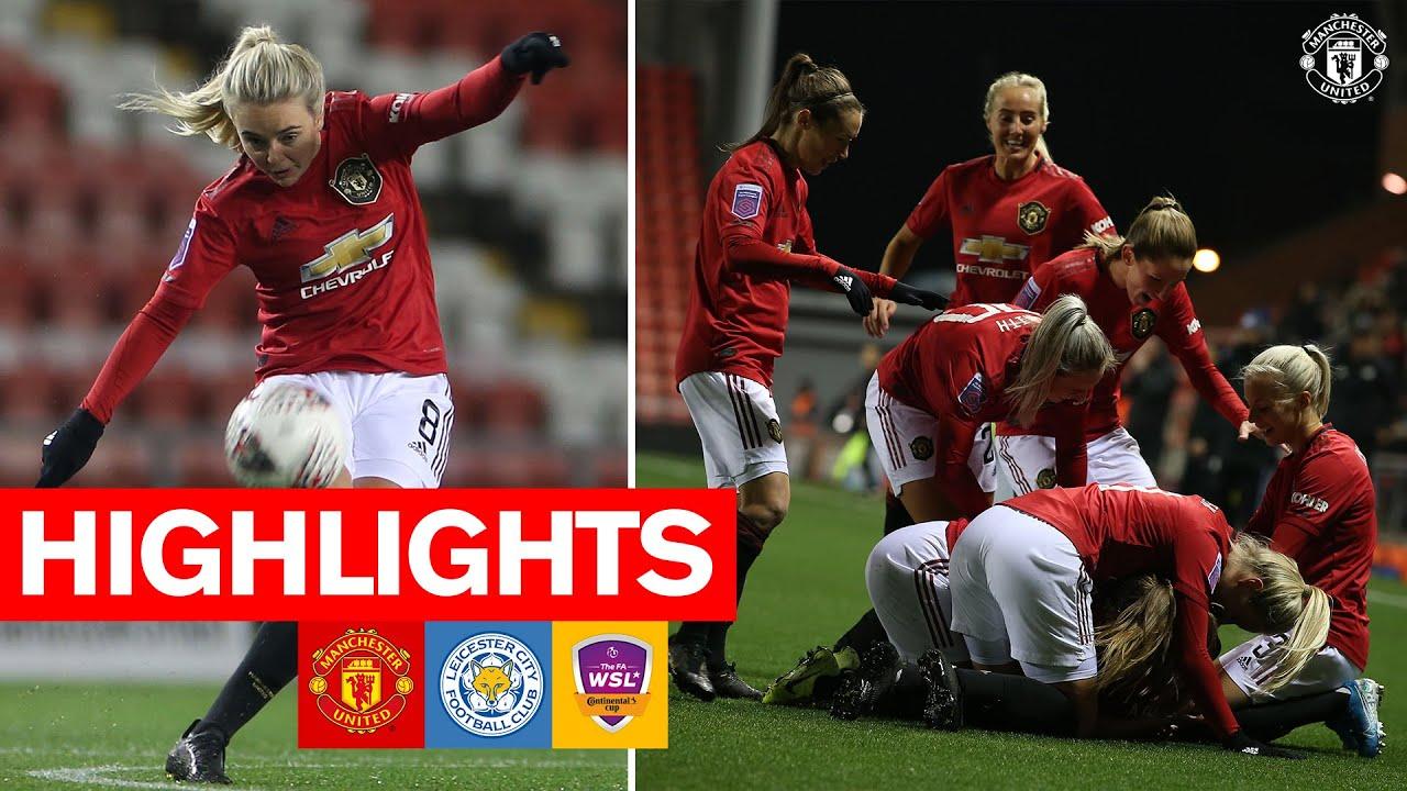 Highlights | Manchester United Women 11-1 Leicester City Women ...