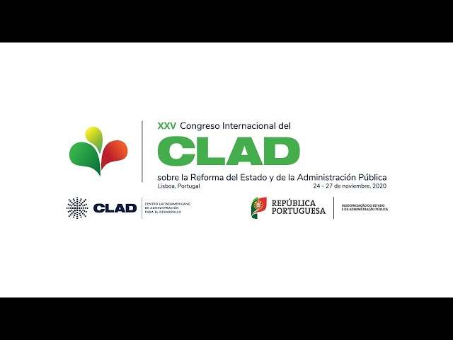 Clausura XXV Congreso Internacional del CLAD, Lisboa 2020