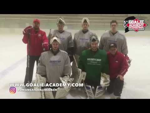 Special goalie practice  for goalies Russia - KHL, WHL, MHL